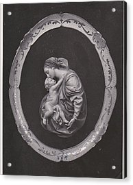 Madonna And Child Acrylic Print by Allan Koskela