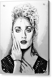 Madonna Acrylic Print by Andrew Read