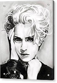 Madonna Acrylic Print by Fred Larucci