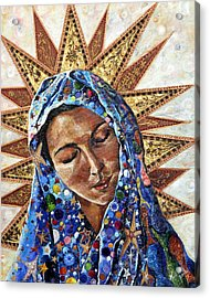 Madonna Of The Dispossessed Acrylic Print by Mary C Farrenkopf