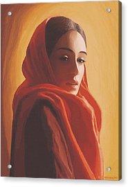 Maeror Acrylic Print by SophiaArt Gallery