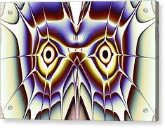 Magic Owl Acrylic Print by Anastasiya Malakhova
