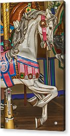 Magical Carrsoul Horse Acrylic Print by Garry Gay