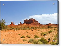 Magnificent Monument Valley Acrylic Print by Christine Till