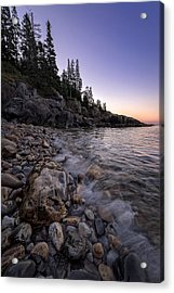 Maine Dawn Acrylic Print by Rick Berk