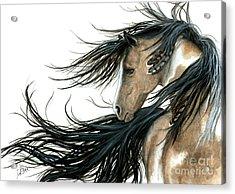Majestic Horse Series 89 Acrylic Print by AmyLyn Bihrle