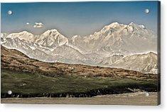 Majestic Mount Mckinley Acrylic Print by Penny Lisowski