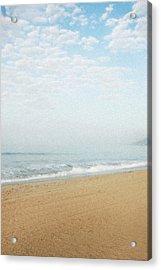 Malibu Morning Acrylic Print by Ari Jacobs
