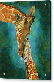 Mama's Love Acrylic Print by Laurie Henry