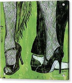 Mambo Acrylic Print by Debbie DeWitt