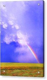 Mammatus Rainbow Of New Mexico Acrylic Print by Jason Politte