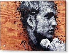 Man In The Box Acrylic Print by Bobby Zeik