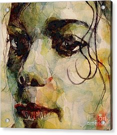 Man In The Mirror Acrylic Print by Paul Lovering
