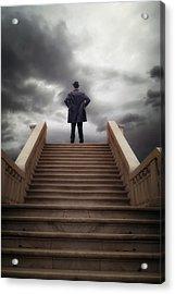 Man On Stairs Acrylic Print by Joana Kruse