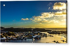 Mandal Norway Acrylic Print by Ben Foster