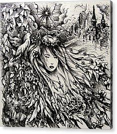 Mandee's Dream Acrylic Print by Rachel Christine Nowicki