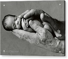 Maneesha And Jack Acrylic Print by Anne Geddes