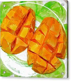 Mango Acrylic Print by Chris Butler