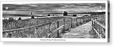 Manistique Lakefront Acrylic Print by Twenty Two North Photography