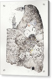 Mans Worship Of The Unknown With Uncanny Fever Hark Hark Acrylic Print by Mark M  Mellon