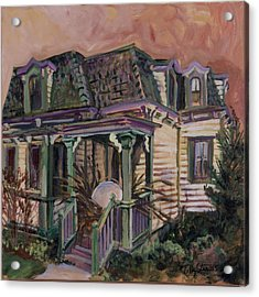 Mansard House With Nest Egg Acrylic Print by Tilly Strauss
