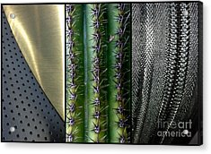 Manufactured Ouch Acrylic Print by Marlene Burns