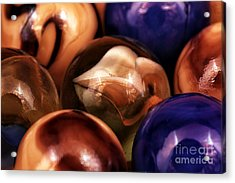 Marble Choices Acrylic Print by John Rizzuto