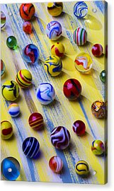 Marble Still Life Acrylic Print by Garry Gay