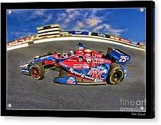Marco Andretti Acrylic Print by Blake Richards