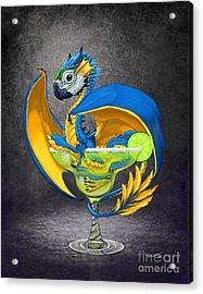Margarita Dragon Acrylic Print by Stanley Morrison