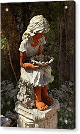 Marguerite Acrylic Print by Carla Parris