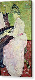 Marguerite Gachet At The Piano Acrylic Print by Vincent Van Gogh