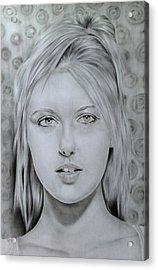 Maria Sharapova Acrylic Print by Kamanita Klinjuy