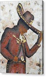 Mariachi  II Acrylic Print by Jose Espinoza
