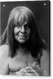 Maricopa Indian Women Circa 1907 Acrylic Print by Aged Pixel
