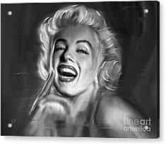 Marilyn Monroe Acrylic Print by Linton Hart