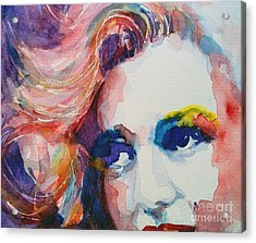 Marilyn No11 Acrylic Print by Paul Lovering