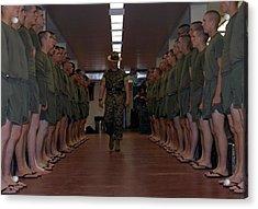Marine Basic Training Acrylic Print by Mountain Dreams