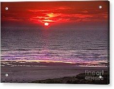 Marine Sunset Acrylic Print by Robert Bales