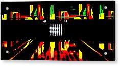 Mark It Zero Acrylic Print by Benjamin Yeager