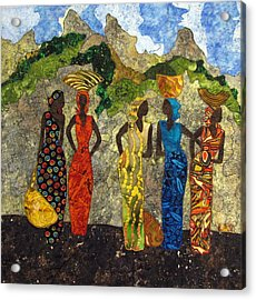 Market Day #2 Acrylic Print by Lynda K Boardman