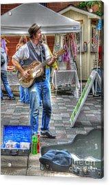 Market Image 26 Acrylic Print by David Bearden