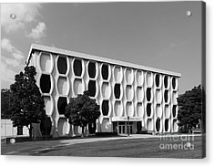 Marquette University Lalumiere Hall Acrylic Print by University Icons