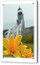 Marshall Point Lighthouse  Acrylic Print by Mike McGlothlen