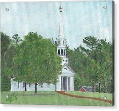 Martha Mary Chapel Acrylic Print by Cliff Wilson