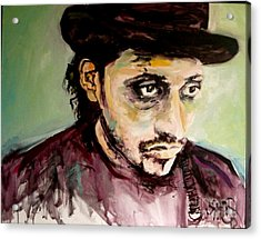 Martin Grech Acrylic Print by Michelle Dommer
