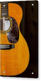 Martin Guitar  Acrylic Print by Bill Cannon