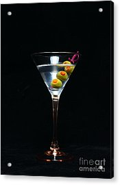 Martini Acrylic Print by Paul Ward