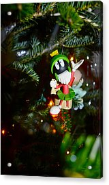Marvin The Martian Acrylic Print by Brynn Ditsche