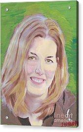 Mary Acrylic Print by John Morris